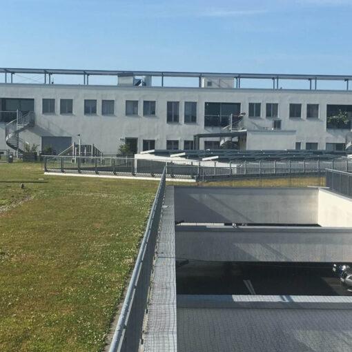 Wohnungen mit Zugang zum begrünten Dach der Wilmersdorfer Arcaden.