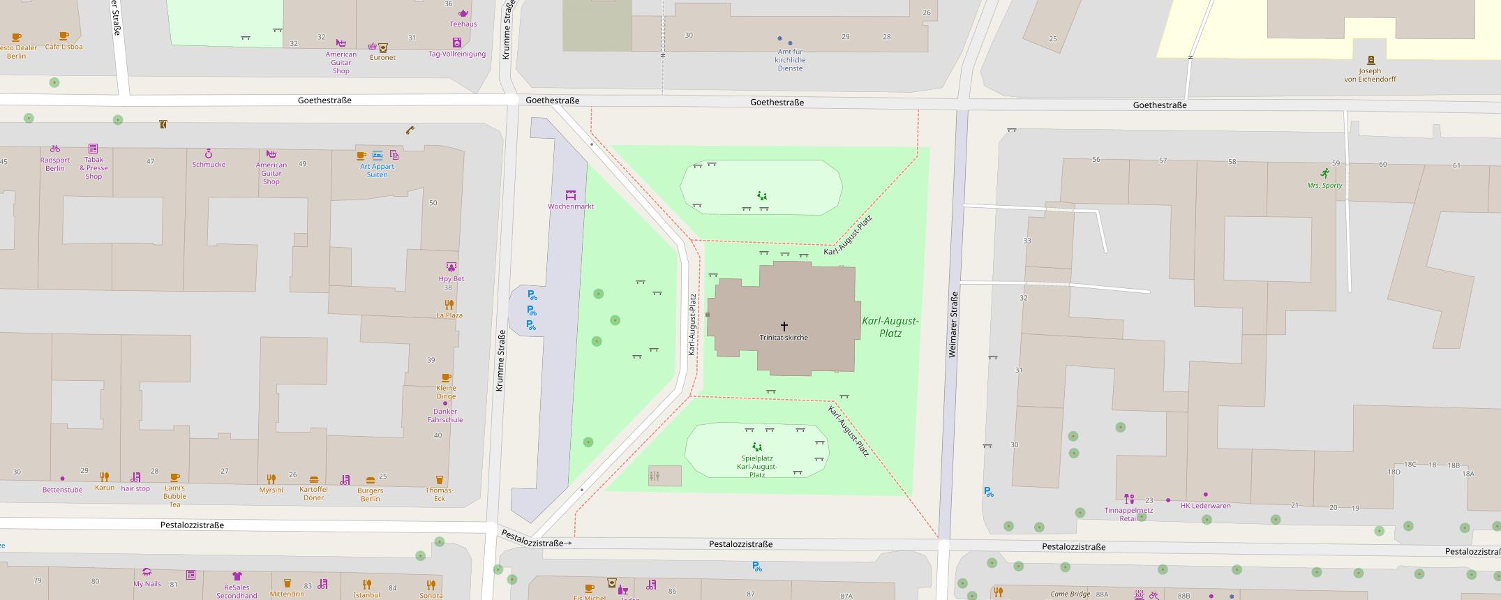 Karl-August-Platz (OSM)
